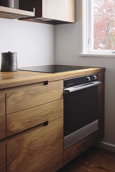New Wood Kitchen Stove Modern Ideas Kitchen Room Design, Modern Kitchen Design, Kitchen Interior, Home Interior Design, Kitchen Decor, Kitchen Ideas, Zen Kitchen, Cherry Kitchen, Kitchen Grey
