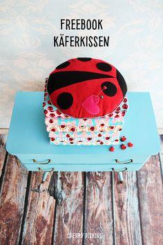 Käferkissen Freebook: Summerdream Ladybird - Swafing Aktuell
