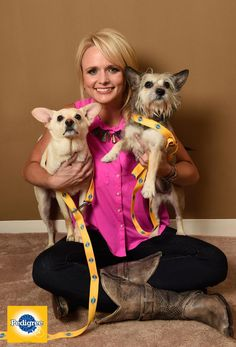 Good luck to @mirandalambert at the #ACMawards. She has our vote for Best Entertainer AND supporter of shelter dogs!