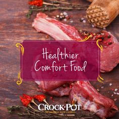 It's hard to say no to a bowl full of your favorite comfort food! Here are 5 tips for making your favorite dishes healthier #CrockPot #SlowCooker #Healthy #Comfort #Food #Recipes