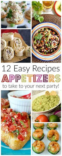 12 easy appetizer re