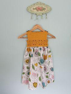Ravelry: Projeto Gallery para o padrão Granny Praça Crochet / tecido do vestido por Mon Petit Violon