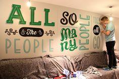 Project Love: Holiday Inn Mural, Camden London