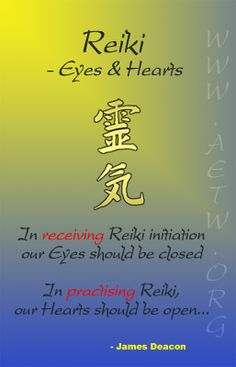 Reiki   - Eyes and Hearts