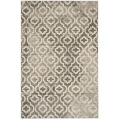 Safavieh Porcello Grey/ Ivory Rug (6' x 9') | Overstock.com Shopping - The Best Deals on 5x8 - 6x9 Rugs