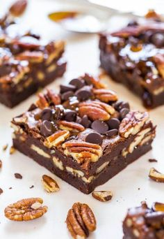 Full of chocolaty goodness, these Turtle Brownies are truly the best dessert for your next get-together! They are incredibly fudgy and loaded with crunchy pecans and gooey caramel for one delightful treat.