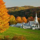 New England Foliage in Autumn (Connecticut, Maine, Massachusetts, New Hampshire, Rhode Island, & Vermont)