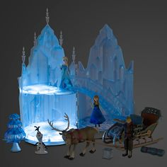Elsa Musical Ice Castle Play Set