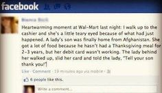 restoring my faith in humanity