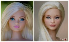 Tips for Repainting the Interior of Your Home Realistic Face Drawing, Realistic Dolls, Custom Barbie, Custom Dolls, Vintage Barbie, Barbie And Ken, Mattel Barbie, Doll Painting, Doll Repaint