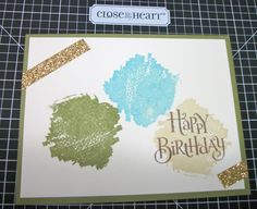 CTMH Brushstrokes stamp set