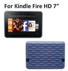"HappyZone Soft Gel TPU Skin Case For Kindle Fire HD 7"" Display - Blue by HappyZone. $4.99. Keep your Kindle Fire HD safe and protected in style with this TPU rubber skin case.  Slip your Kindle in to add a splash of color.  Delivers instant all around protection from scratches and dirt. Easy access to all buttons, controls and ports without having to remove the case."
