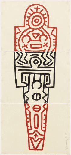 Keith Haring, Totem