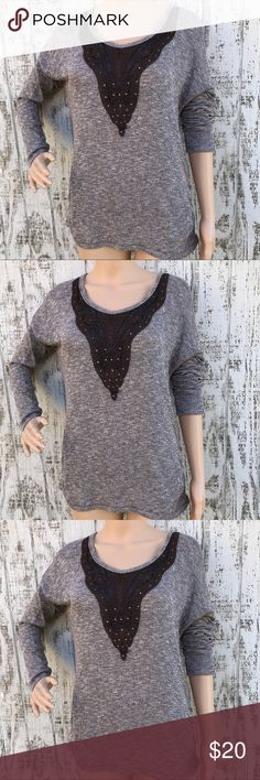 Maurices Lace & Crochet Accent Sweater Maurices Lace & Crochet Accent Sweater  Size Medium  Like New  Accent buttons up the back Gorgeous ❤️  M10 Maurices Sweaters