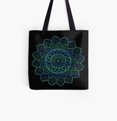 Blue mandala art on multiple items find my shop for more. Large Bags, Small Bags, Cotton Tote Bags, Reusable Tote Bags, Medium Bags, Mandala Art, Are You The One, Prints, Blue