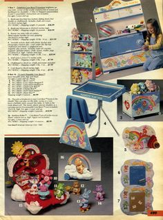 care bears stuff for your room!