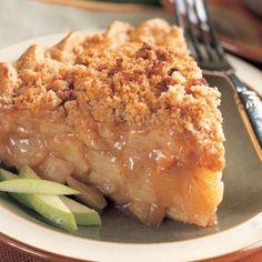 Cinnamon Crumble Apple Pi / #Apple #Cinnamon #Crumble Crumble Pie, Cinnamon Crumble, Crumble Topping, Apple Crumble Receta, Apple Cinnamon, Cinnamon Rolls, Just Desserts, Delicious Desserts, Dessert Recipes