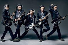 Keith Richards doin' his thang excelente foto