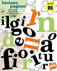 """""""Il giorno della fioritura"""" di Luciano Pagano, copertina"""