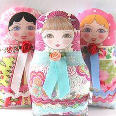 Matryoshka cloth doll Olga