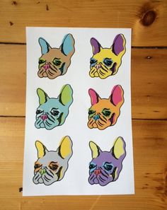 Pop Pup Print! Add some color and funk to your house
