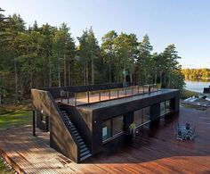 29 Popular Shipping Container Homes for Every Budget - Page 18 of 28 Shipping Container Home Designs, Shipping Containers, Shipping Container Interior, Shipping Container Cafe, Building A Container Home, Container Van House, Container Pool, Storage Container Homes, Container Plants