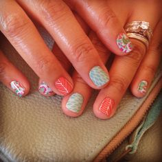 Siesta (the throwback wrap), lotus, and arrow! Ashley Dawson-Independent Jamberry Consultant
