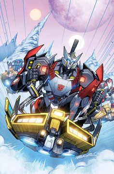TF MTMTE 04 cover colors by *markerguru on deviantART - Transformers Drift, Pipes, and Ratchet