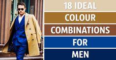 18ideal colour combinations for men