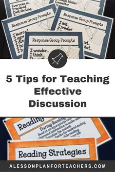 5 Tips for Teaching Effective Discussion Teaching Strategies, Teaching Resources, Teaching Ideas, Teaching Social Studies, Teaching History, The New School, New School Year, Teacher Lesson Plans, Scavenger Hunts