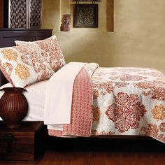 Greenland Home Fashions Tuscany Quilt Set | from hayneedle.com