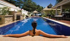 The Most Beautiful Pools in The Banyan Tree Seychelles on Mahe Island