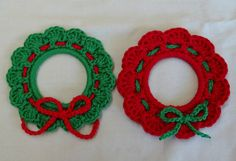 Crochet Christmas Ornaments/Decorations by BettyBoopCrochet
