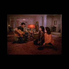 Tangerine And Brown Dream-Band Knits Great for inexplicably starting a band for five minutes at the end of a Twin Peaks episode.