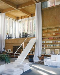 "NOWNESS on Instagram: ""#InResidence: Would you like to live here?⁠ ⁠ This is the home, studio and office of architect Ricardo Bofill❕⁠ ⁠ Known as 'La Fábrica',…"" Home Design, Design Blogs, Design Ideas, Home Interior, Interior Architecture, Interior And Exterior, Open Space Architecture, Sustainable Architecture, Apartment Interior"
