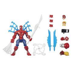 "Marvel Avengers Super Hero Mashers Super Spin Spider-Man Figure - Hasbro - Toys ""R"" Us"