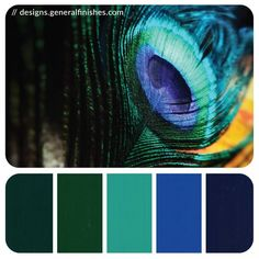 Peacock Color Palette | General Finishes Design Center