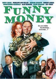 After an accountant accidentally switches briefcases with someone else, he discovers that it's full of money; soon he and his wife find their paths converging with friends, cops, and Mr. Big, who wants his money back. Gene Wilder Movies, Chevy Chase Movies, Penelope Ann Miller, Armand Assante, Robert Loggia, Jack Palance, Picture Company, Imdb Tv, Police Detective