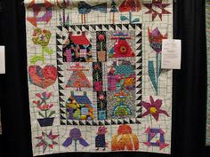 Quilting Blog - Cactus Needle Quilts, Fabric and More: National Quilting Day. Quilt by Judith Ritner, quilted by Cindy Phare