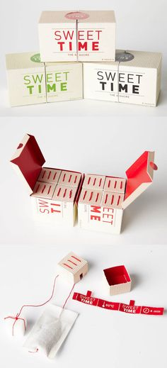 Sweet Time Sugar and Tea in One   34 Coolest Food Packaging Designs Of 2012