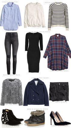 PAKKELISTEN  12 items 1 uges outfits  Acie  Stylista