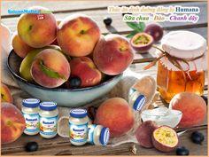 Thức ăn dinh dưỡng chế biến sẵn Humana sữa chua-đào-chanh dây (190g).Thành phần cấu tạo: sữa chua nguyên kem, đào nghiền, nước ép chanh dây, táo nghiền, nước cam ép, bột gạo nguyên cám, nước. Giá: 49.500 Đ