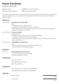 Preschool Jobs, Preschool Teacher Resume, Teaching Resume, Resume Writing, Kindergarten Teachers, Teacher Cover Letter Example, Cover Letter For Resume, Job Resume Examples, Resume Tips