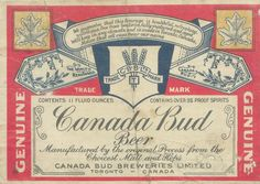Canada Bud Beer by Thomas Fisher Rare Book Library, via Flickr