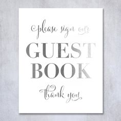 Guest Book Silver Foil Poster Sign Art Print Wedding Reception Seating Signage Bridal Shower Brunch & Bubbly Poster Decor 5 inches x 7 inches. Digibuddha(TM) real foil art prints are made by hand in our small shop just outside of Philadelphia. • Made with gorgeous luxe silver foil and premium pure white matte card stock. • Prints arrive unmatted, ready to be placed in your favorite frame. • Original design: all Digibuddha(TM) paper goods are exclusively created in-house by our design team.