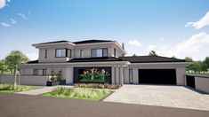 Village House Design, House Front Design, Modern House Design, Tuscan House Plans, My House Plans, Double Storey House Plans, House Plans South Africa, 4 Bedroom House Plans, Beautiful House Plans