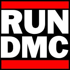 Image result for what font is the run dmc logo