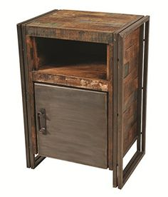 Moti Furniture Allison Cabinet/Night Stand with 1 Door |
