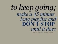 Stay Inspired!  Music can be the key to a great workout!  #music #playlist #workout #songs
