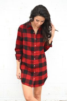Aspen Buffalo Flannel Tunic from Shop Southern Roots TX